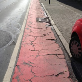 """Autolobby unterstützt """"Verfall der Radverkehrsinfrastruktur"""" und wirbt für das Nichtstun"""