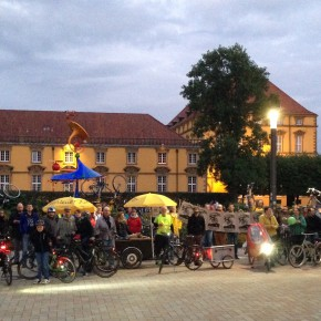 Critical Mass Osnabrück September 2015