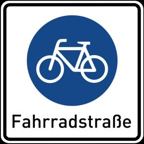 Eine Fahrradstraße erhöht die Unfallgefahr?