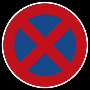 Parken und Halten ist auf Radwegen grundsätzlich verboten!