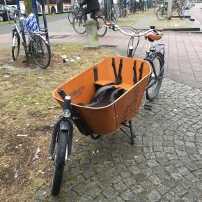Von aggressiven Lastenradfahrern und Wiens darbender Wirtschaft