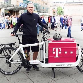 Telekom will Einsatz von Lastenrädern ausweiten
