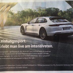 Kann Auto-Werbung gefährlich werden?