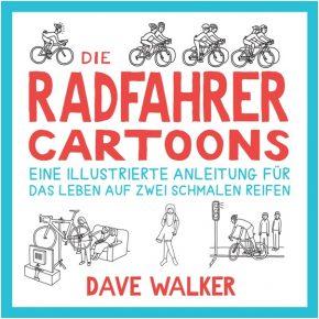 Die Radfahrer-Cartoons