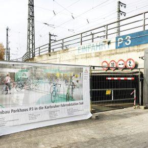 Parkhäuser für Fahrräder