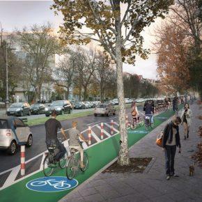 """Was sind eigentlich """"Protected Bike Lanes""""?"""