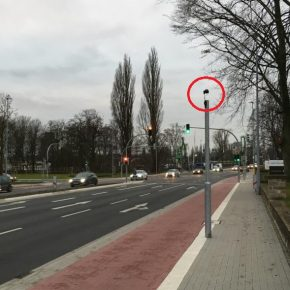 Wie die Grünphase für Radfahrer automatisch verlängert wird