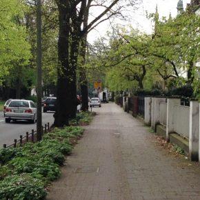 Osnabrück verzichtet auf den Schutz bei der protected bike lane