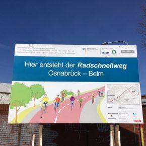 Radschnellweg Osnabrück: Erster Abschnitt freigegeben