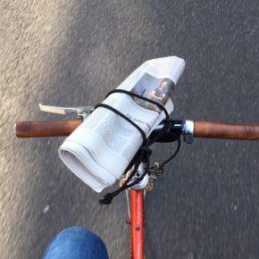 Der kleinste Fahrrad-Gepäckträger der Welt