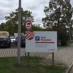 Deutschlands erster SUV-Parkplatz?