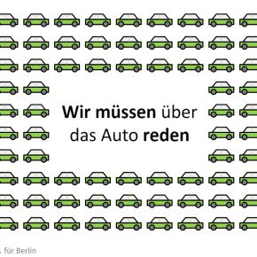 Berlin soll Zahl der Autos halbieren