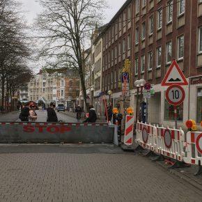 Terrorsperre auch für den Radverkehr
