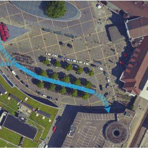 Deutschlands zweitgrößtes Fahrradparkhaus geplant