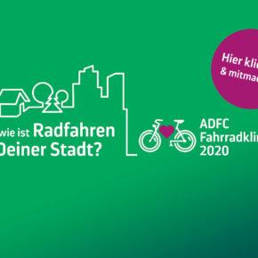 ADFC-Fahrradklima-Test 2020 startet