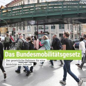 VCD startet Kampagne für ein Bundesmobilitätsgesetz