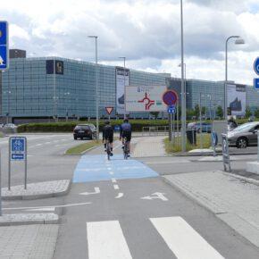 ADFC fordert Anbindung des Flughafens BER ans Radverkehrsnetz