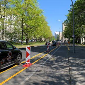 Umwelthilfe fordert Pop-Up-Radwege in über 200 Städten